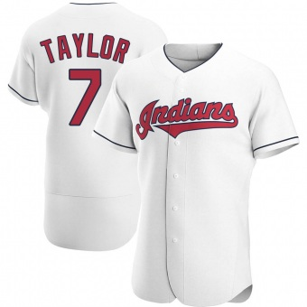 Authentic Cleveland Indians Jake Taylor Home Jersey - White