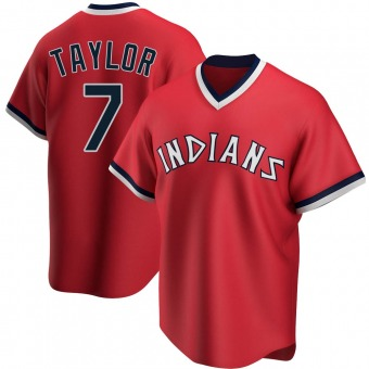 Youth Replica Cleveland Indians Jake Taylor Road Cooperstown Collection Jersey - Red